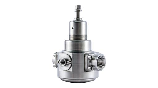312R2 stainless steel pressure regulator with MOCA certification