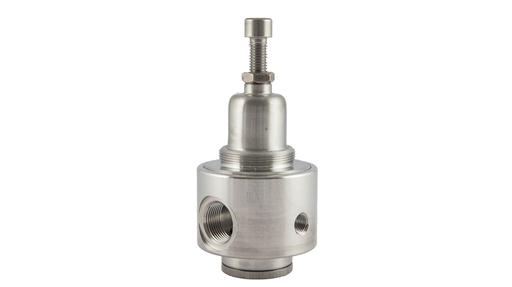 "Model 533: R3114 1/4"" stainless steel pressure regulator with MOCA certification"