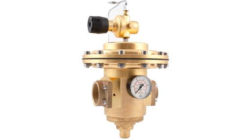 Pressure Regulator Models D51, D52 & 3128: 1 5