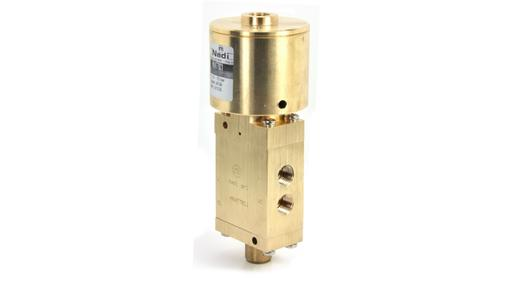 M04 series 3/2 air pilot valves brass or stainless steel