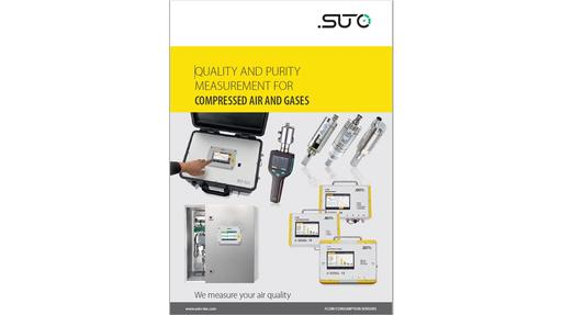 Compressed air purity instrument brochure