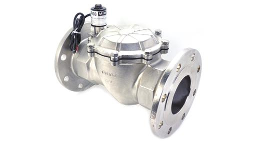 "PCN 4"" Flanged Stainless Steel Solenoid Valves"