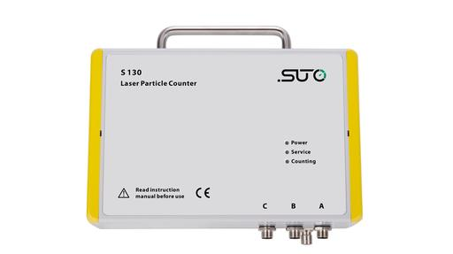 S 130 laser particle counter with 4-20mA, Modbus RTU RS-485 and alarm relay outputs