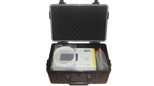 S 130 portable particle counter set