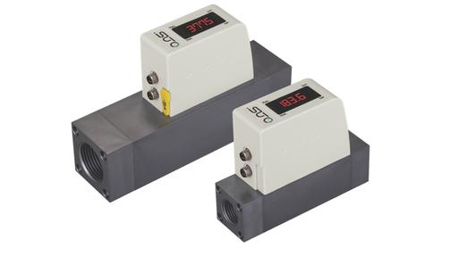 S 418 & S 415 inline thermal mass flow meters