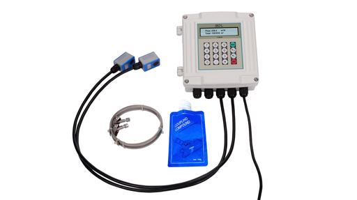 S 460 flow meter with clamp on sensors
