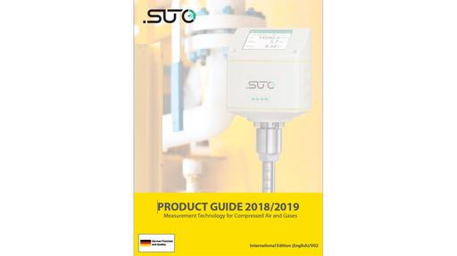 SUTO-iTEC compressed air and gas measurement and analysis product catalogue