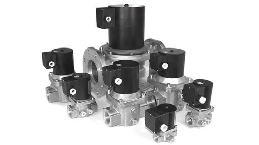 threaded and flanged EN161 gas valves