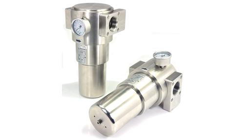Pneumatic filters in stainless steel or aluminium with ATEX or GOST Ex certification