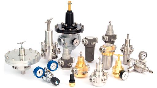 Control valves for high and low pressure applications