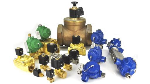 brass and stainless steel solenoid valves