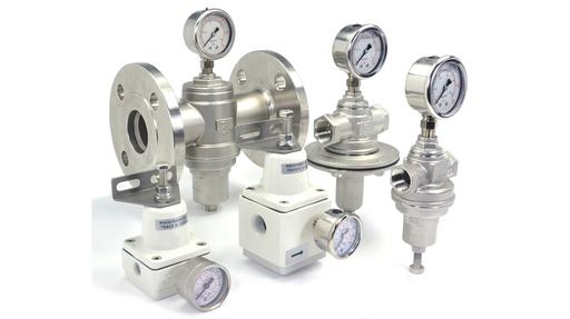 pressure regulating and pressure reducing valves