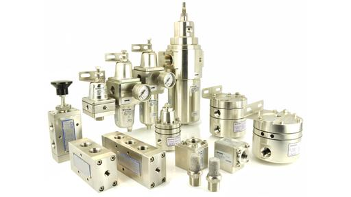 pneumatic regulators and valves