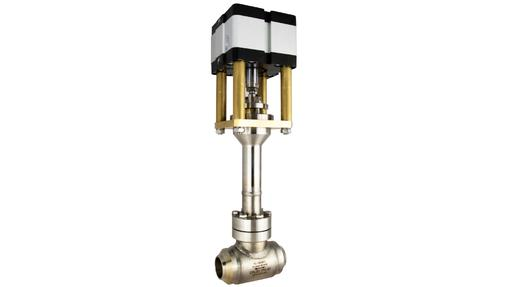 Boscarol pneumatic cryogenic valves -196C to +50C