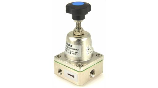 "1/4"" pneumatic pressure sustaining valve or back pressure regulator"
