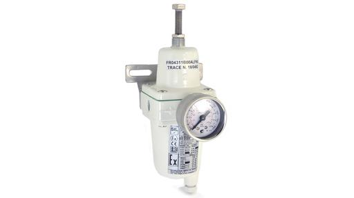 "FR04 1/4"" aluminium filter regulator ATEX"