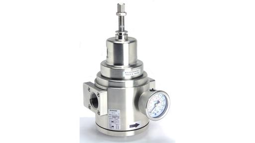 Pneumatic pressure regulator with ATEX & GOST Ex certification