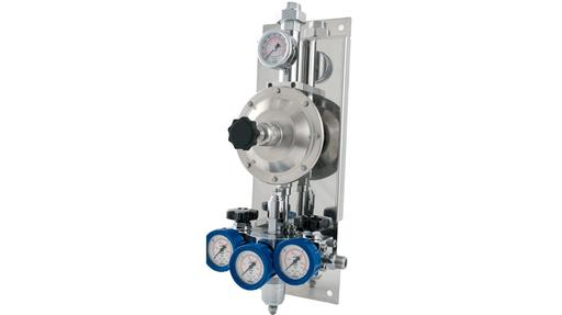 QEN50 dual inlet double stage regulator