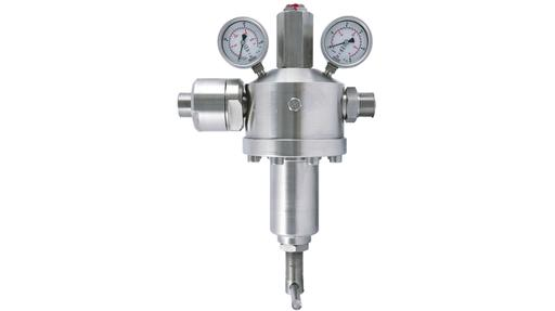 High pressure reducing valves