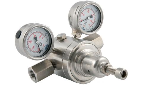 R31100 high pressure stainless steel regulator
