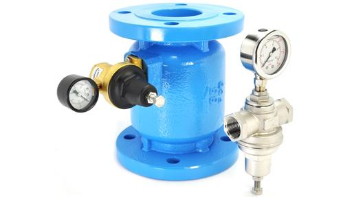 "Complete range of pressure reducing valves 1/2"" to 12"""