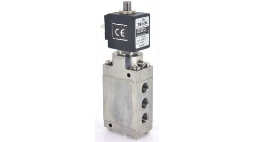five way solenoid valve
