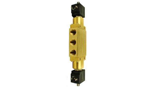 "D16 series 3/8""-1/2"" double solenoid bistable closed centres"