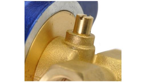 C03 series brass body manual override option