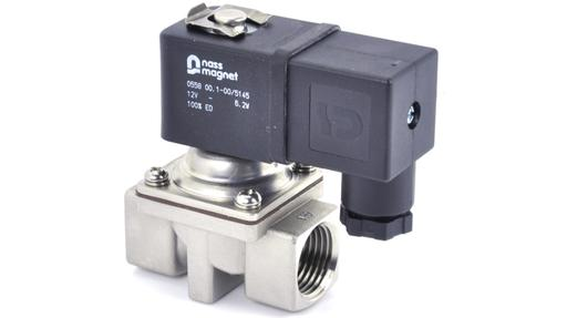 SX77 1/2″ 2/2 Normally Closed Solenoid Valve 304 Stainless Steel