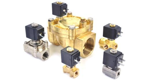 "L series brass or stainless steel 1/4"" to 2"" IP65"