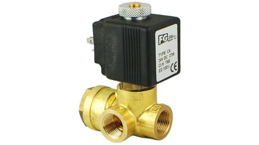 N15 3/8″ 2/2 Normally Open Solenoid Valve High Pressure High Flow
