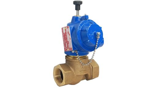 E50 2/2 manual reset solenoid valve with ATEX certification