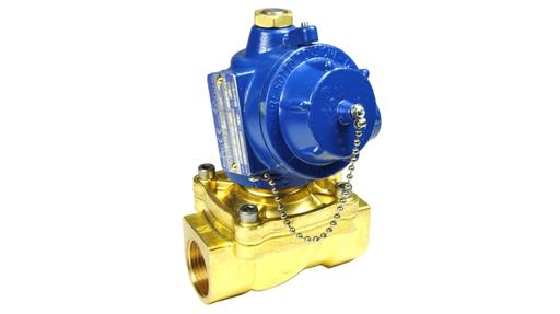 L36 3/8″-1″ 2/2 Normally Closed Solenoid Valve Brass Exd
