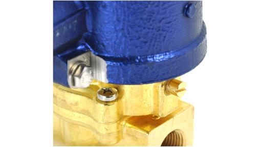 L65 series brass body manual override EExd