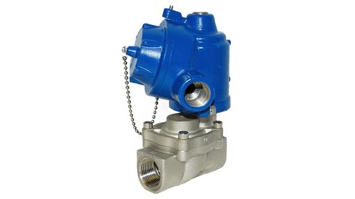L67 3/8″-1″ 2/2 Normally Closed Solenoid Valve High Pressure Brass or Stainless Steel