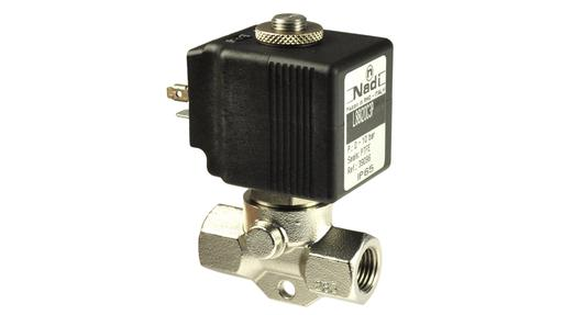 L88 1/4″ 2/2 Normally Closed Cryogenic Solenoid Valve Brass or Stainless Steel