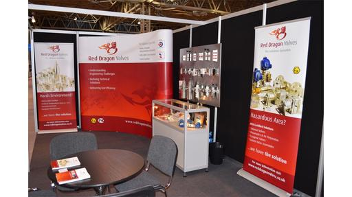 Red Dragon exhibition stand 2014