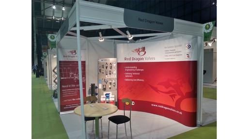 Red Dragon exhibition stand 2013
