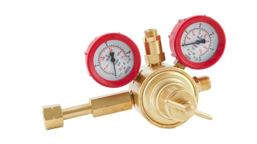 cylinder mounted gas pressure regulating valves